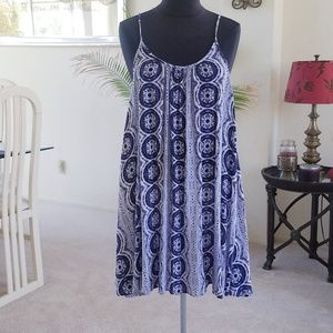 Roxy Tyed Dyed Summer Dress Size Med